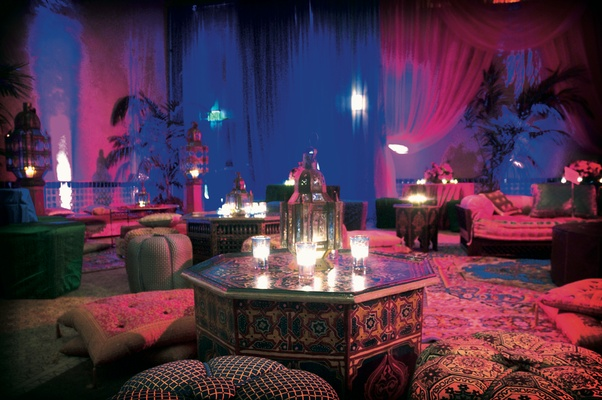 Moroccan Middle Eastern Themed Wedding In Los Angeles