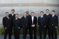Skirball Cultural Center groomsmen at wedding
