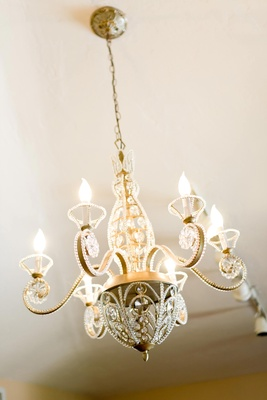 Beautifully ornate chandelier
