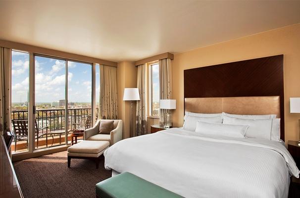 Riverside King Bedroom with Balcony