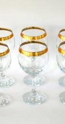 GLASS GOLD TRIM