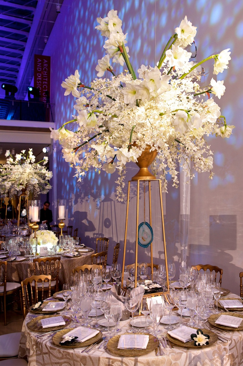 Stunning art deco wedding centerpieces contemporary