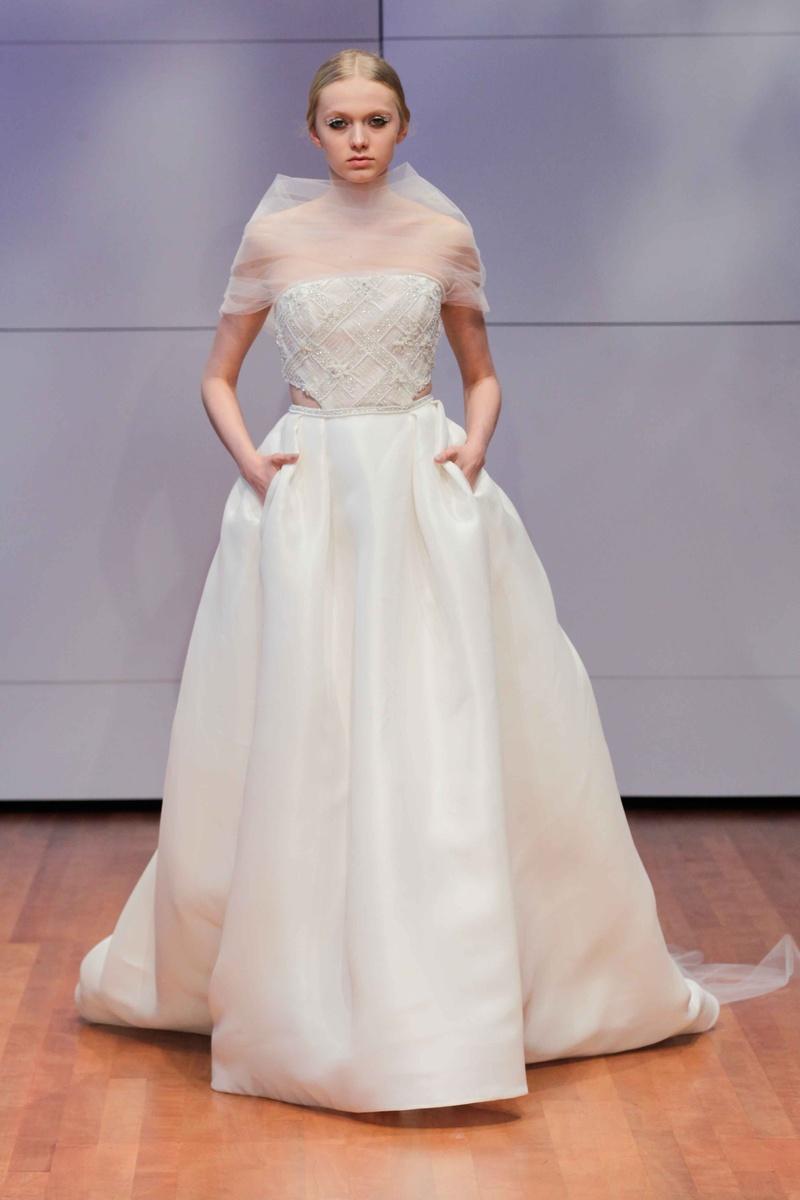 Winter Wedding Dress with Pockets