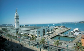 Exterior view of San Francisco's Ferry Building
