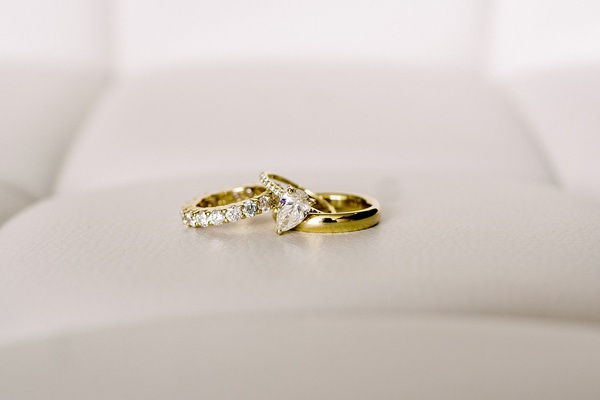 yellow gold wedding rings diamond band and pave teardrop pear shape diamond polished men's band