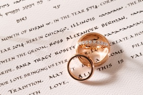 Lester Lampert wedding rings and eternity band