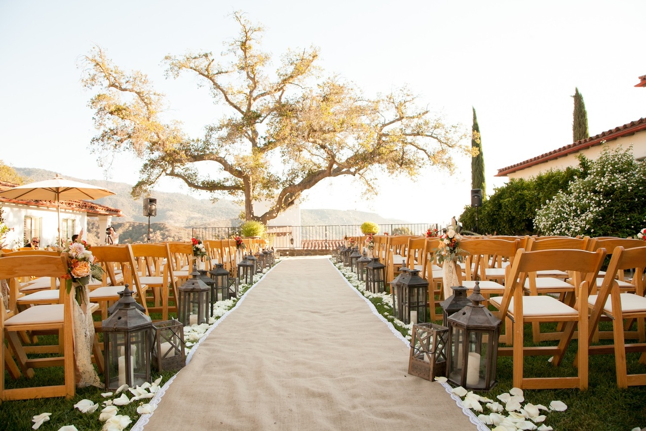 Wedding Ceremony Decoration Photos - Inside Weddings