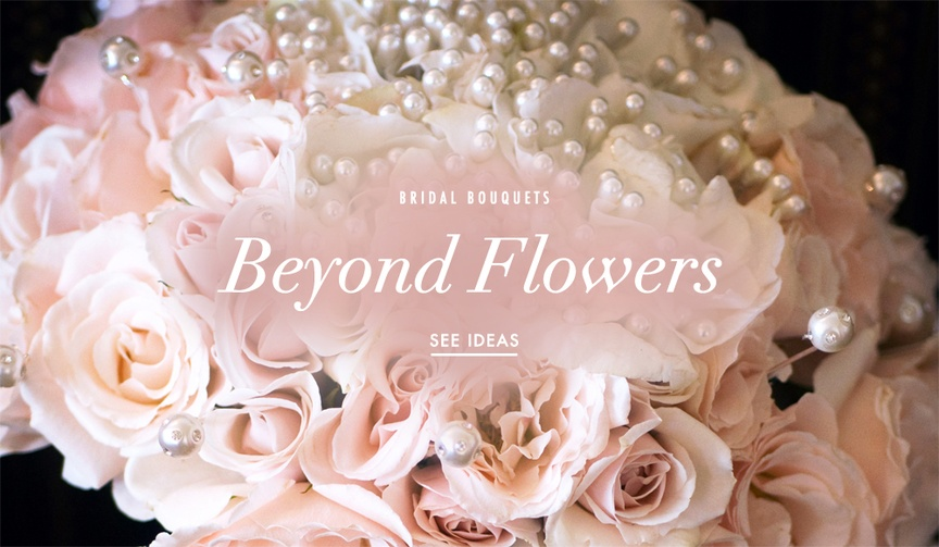 Interesting things to put in your wedding bouquet
