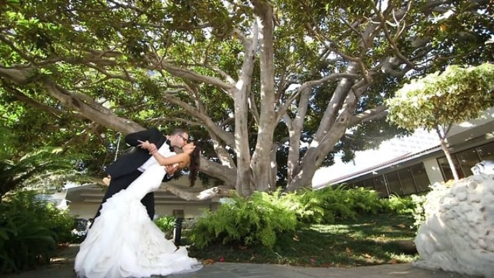 Lively Colorful Wedding At Fairmont Miramar Hotel Amp Bungalows