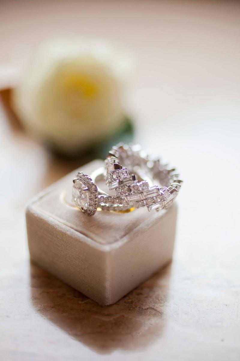 Jewelry Photos - Unique Diamond Wedding Ring - Inside Weddings
