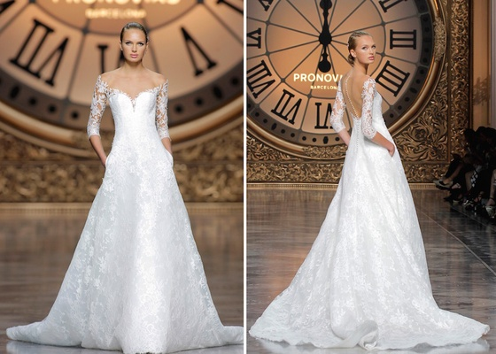 Atelier Pronovias 2016 Varnava Wedding Dress