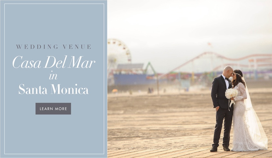 Casa Del Mar hotel wedding venue beach ocean California