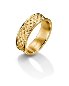 Furrer Jacot 71-28290 yellow gold wedding band