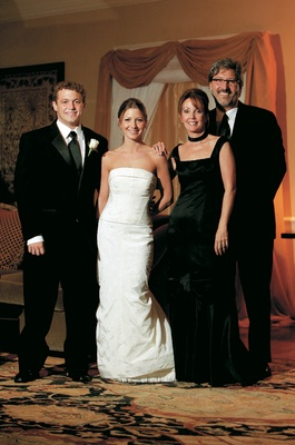 Black Mother-of-the-Bride gown