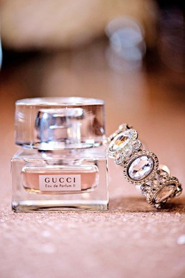 Gucci Eau de Parfum and crystal halo cuff