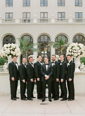 Men in tuxedos at The Breakers in Palm Beach