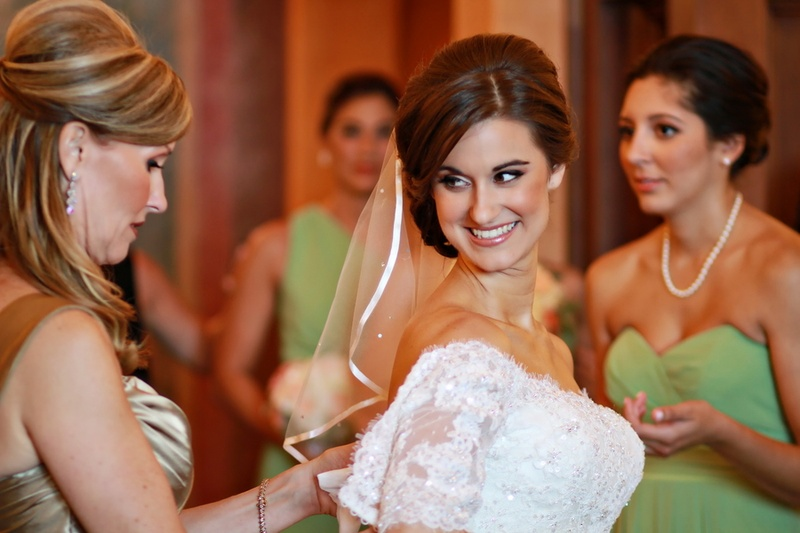 Beauty Photos Elegant Bridal Makeup And Hairstyle Inside Weddings