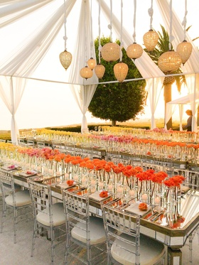 A birthday party at a private residence.