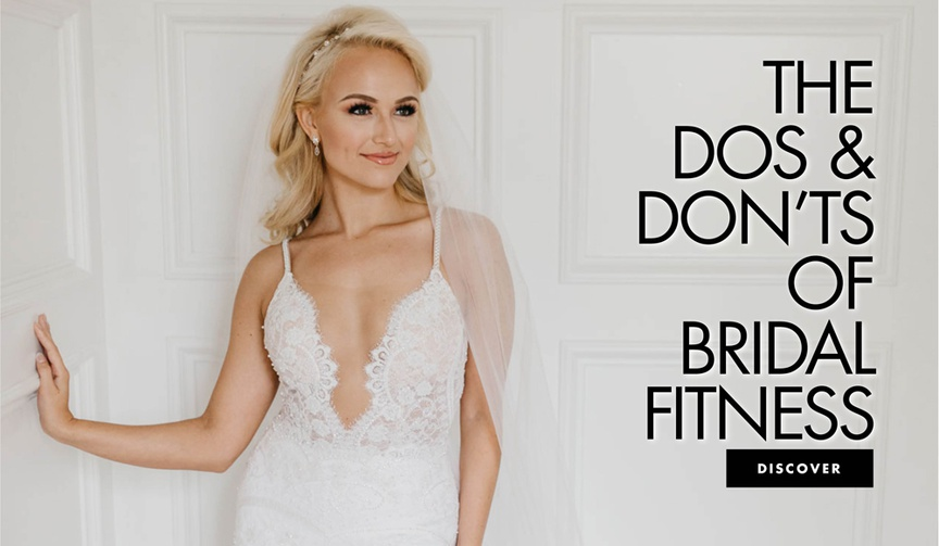 Discover dos and don'ts to getting in shape for the wedding.