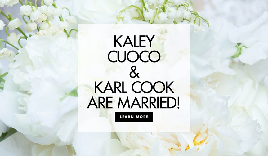 Kaley Cuoco and Karl Cook are married see more details from the actress and equestrian's wedding