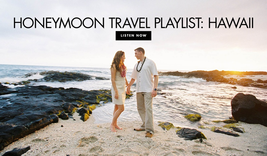 music to listen to on a honeymoon in hawaii, songs for a hawaii honeymoon