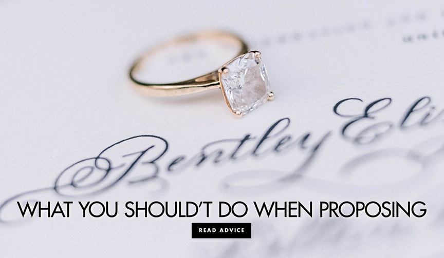 What you should not do when proposing biggest proposal mistakes