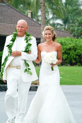 a1aaaa030a ... Father-of-the-Bride tropical wedding attire · Groom and groomsman  casual suits · Bridesmaids ...