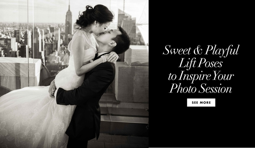 See sweet and playful lift poses to inspire your photo session couples wedding photography
