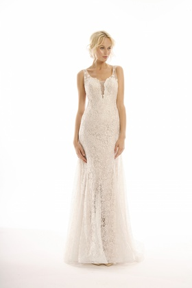 Elegant lace Eden dress by Eugenia Joy Collection Fall 2016
