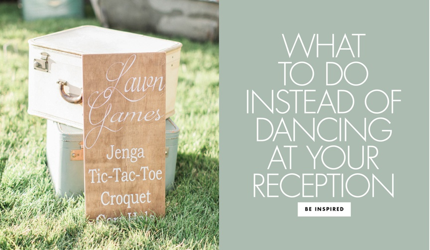 Find out other ways to keep your guests entertained at your wedding!