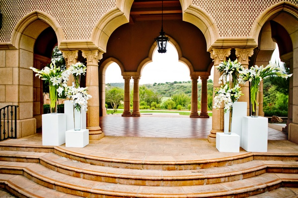 Grand Del Mar Aria Pavillion floral arrangements