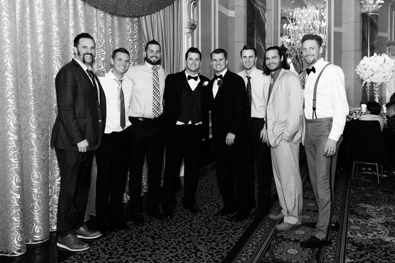 san franciso giants joe panik's wedding, hunter pence, brandon crawford, andrew susac, gary brown