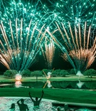 Pro Golfer 2017 Masters Tournament winner Sergio Garcia wedding firework show surprise pool party