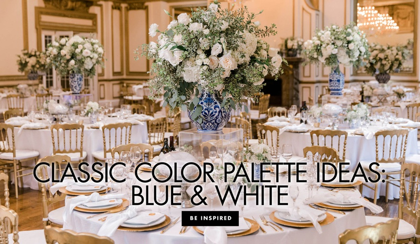 classic color palette ideas blue and white wedding ideas chinoiserie ginger jar
