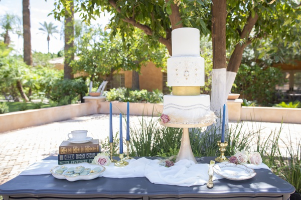1920s inspired garden wedding dessert table art deco wedding cake