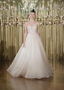 Francesca Miranda Spring 2018 bridal collection Annabelle wedding dress jacquard ball gown