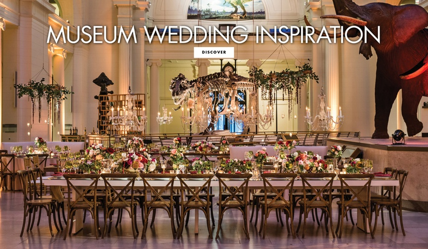 museum wedding inspiration location modern contemporary real weddings brides grooms