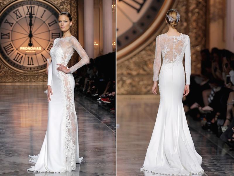 wedding inspiration news celebs trending crop gowns