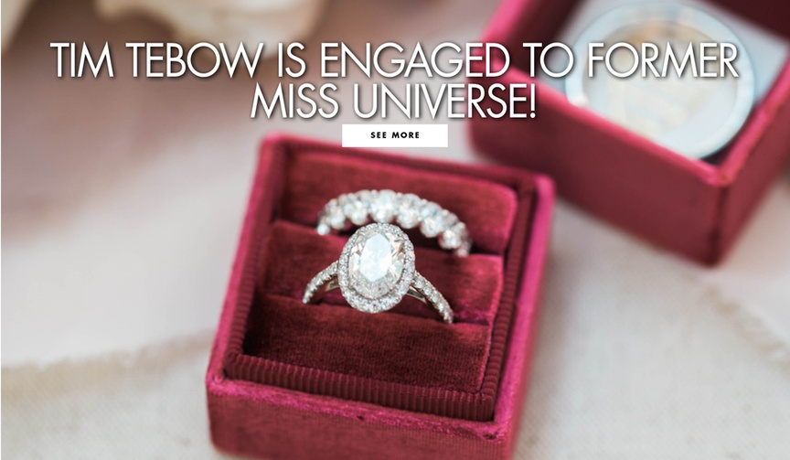 You have to see her stunning engagement ring.
