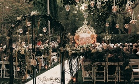 The Beverly Hills Hotel alfresco décor
