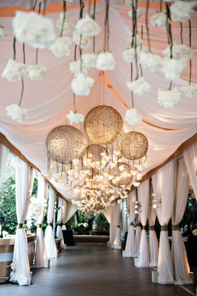 four seasons hotel los angeles beverly hills entrance to hotel ballroom gold chandelier upside down