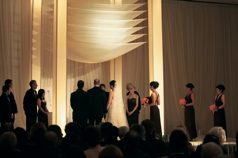 Indoor traditional Jewish ceremony