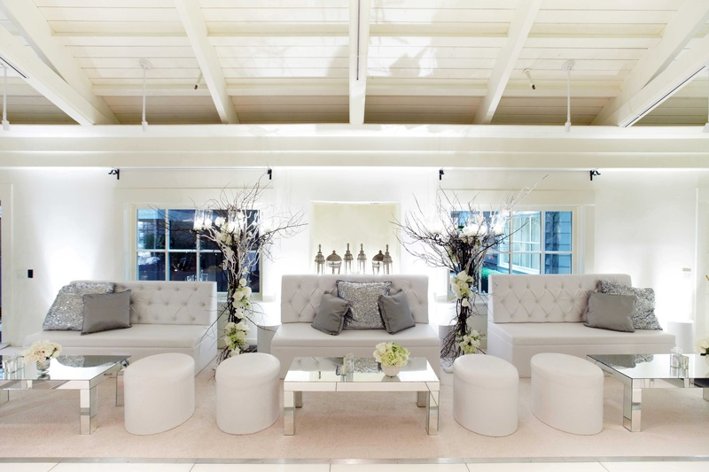 White Lounge Furniture Magnificent Decorating Design