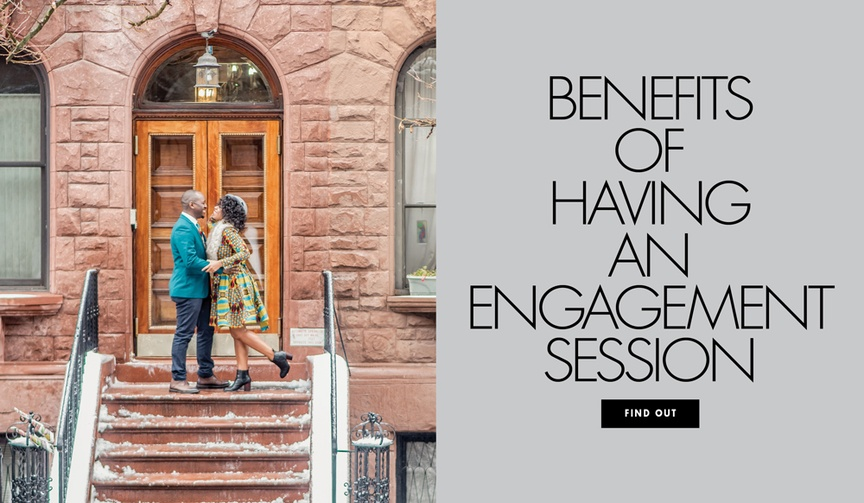 The benefits of having an engagement session photo shoot