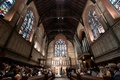 wedding ceremony church of the good shepherd high line hotel new york stained glass windows vaulted