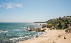 a beautiful picturesque beach in san jose del cabo los cabos mexico