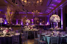 Morgan Pressel wedding reception at The Breakers ballroom