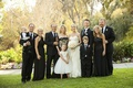 Black Mother-of-the-Bride dresses and family