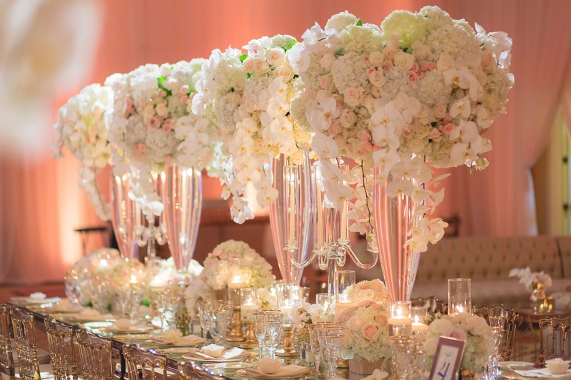 Glam 10th Wedding Anniversary Party & Vow Renewal in ...