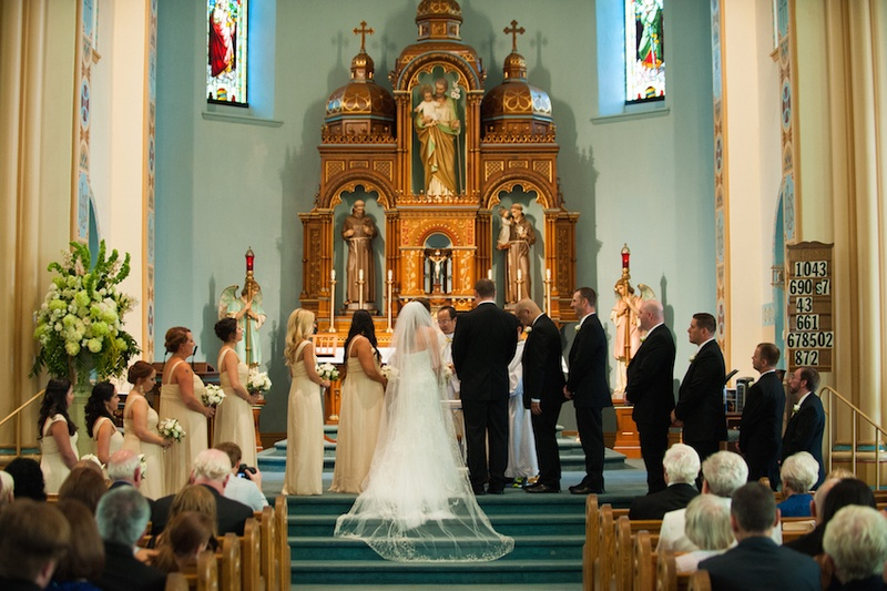 Catholic Wedding Traditions.Ceremony Decor Photos Catholic Wedding Ceremony Inside